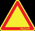 TRILUX žlutozelený bez vykřičníku