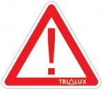TRILUX bílý svykřičníkem